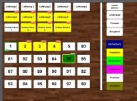 Tischplan  für Kasse Gastronomie