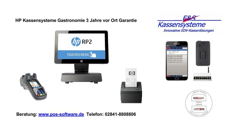 HP RP2000 Kassen Gastronomie