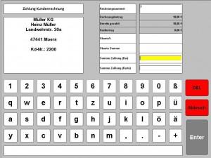 Zahlung Rechnung kasse handel, kasse gastronomie, ticketkasse,  kassensysteme, kassensoftware, kassensystem, kassen