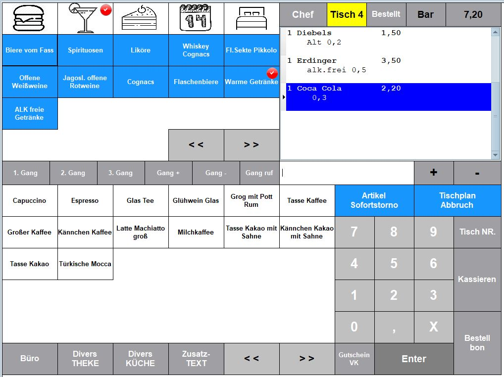 Earth-Kassenprogramm-Gastro 2-kassensoftware