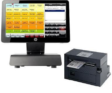 Ticketkasse E+S Kassensysteme, Kassensoftware