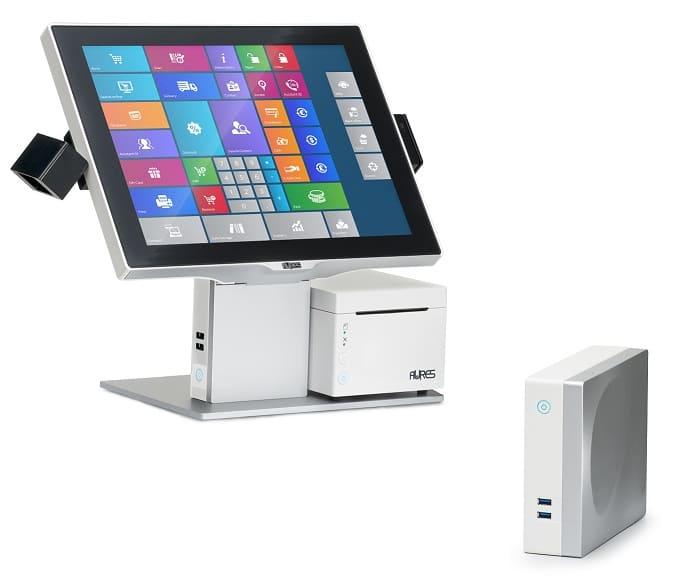 E+S Kassensysteme, Kassensoftware P Sango Box Touchscreen Blanc DSC4628 E+S Kassensysteme, Kassensoftware
