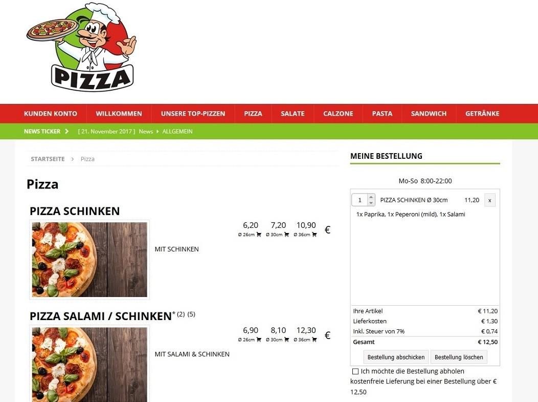 pizzalieferung