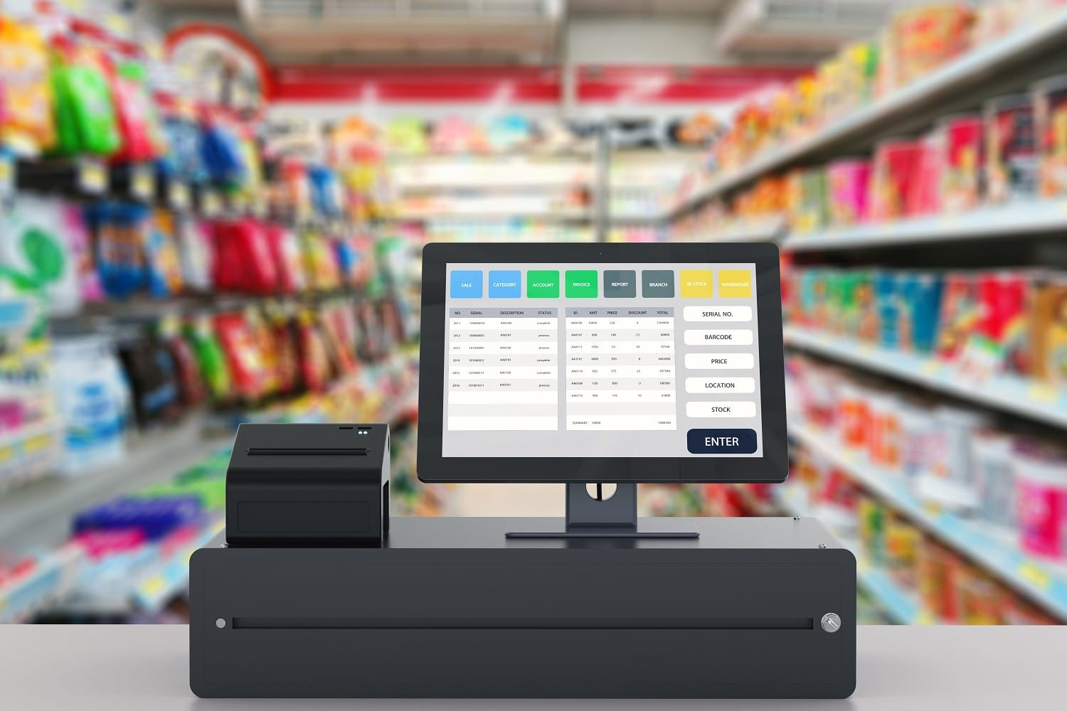 e+s kassensysteme point of sale system