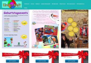 Webshop Gutscheinverkauf