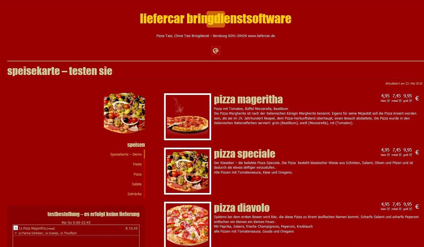Liefersoftware Liefercar