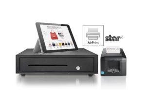 Star fuer Tablets mit Schublade und Drucker