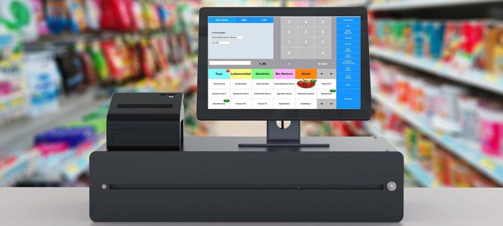 Kassensysteme mit Maxstore Kassensoftware Einzelhandel