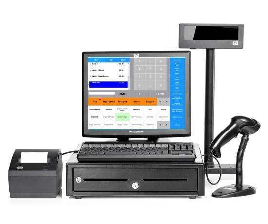 Maxstore Kassensysteme mit HP Kassen