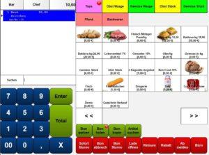 Lebensmittelsoftware