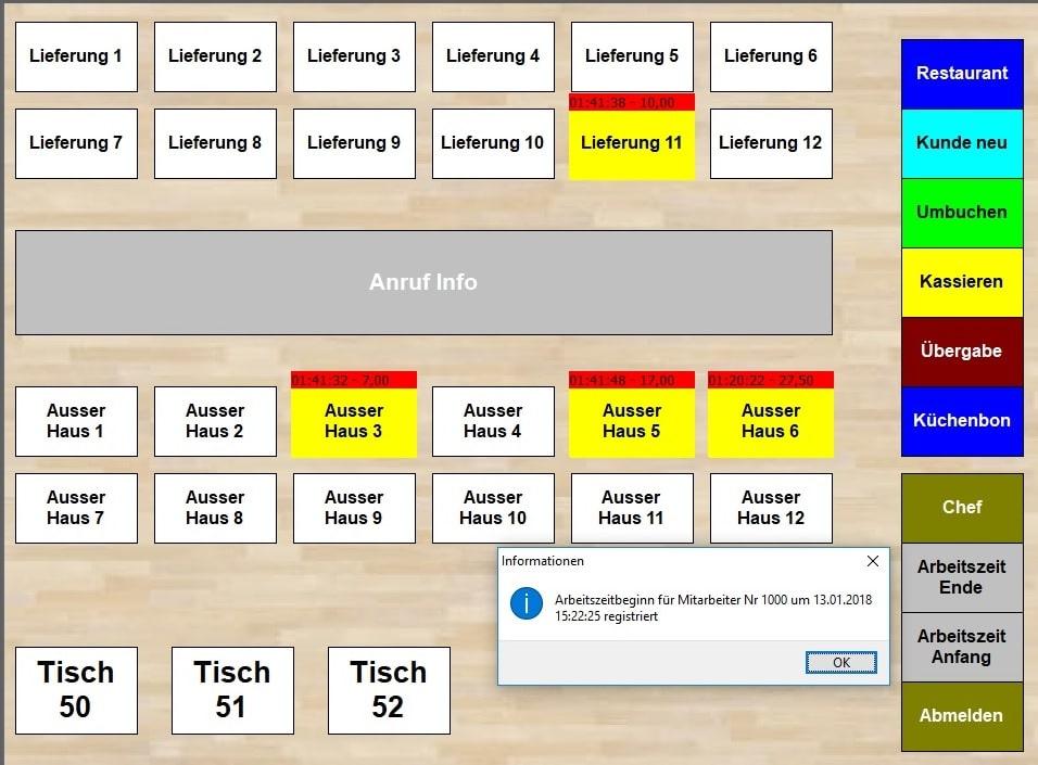 Kassensysteme, Kassensoftware Gastronomie, Handel, Ticket